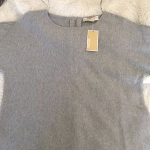 Michael kors grey blouse